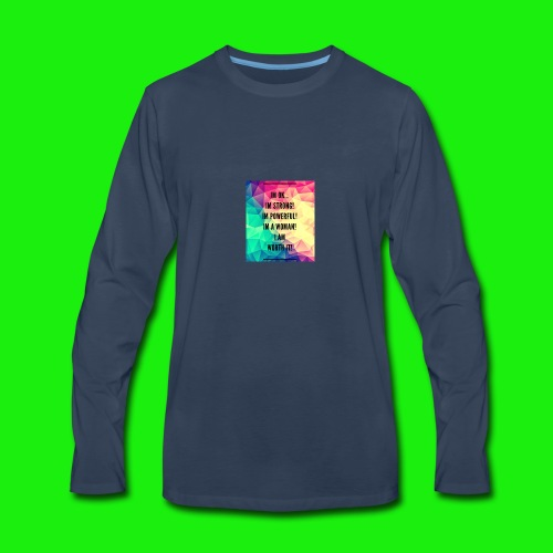 93E8BAEA 6D53 40E4 9C7C 8510DA93CA8B - Men's Premium Long Sleeve T-Shirt