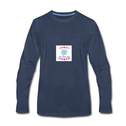 Get Connection - Men's Premium Long Sleeve T-Shirt
