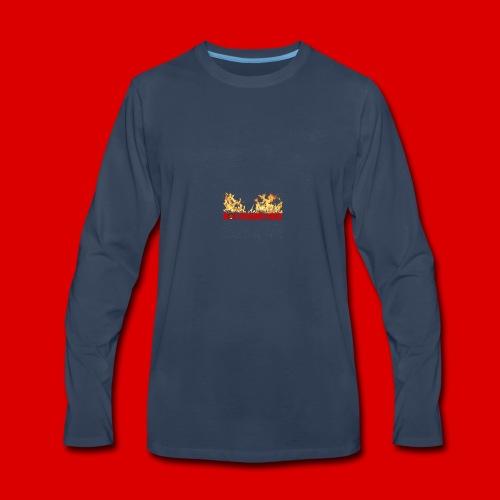 Official M.O.S Hoodie - Men's Premium Long Sleeve T-Shirt