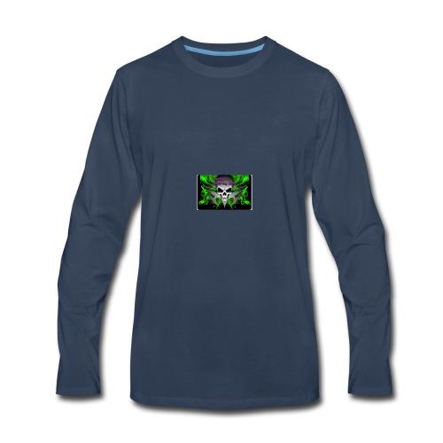Danger Gaming Zone - Men's Premium Long Sleeve T-Shirt