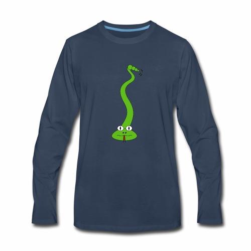 Green Snake - Men's Premium Long Sleeve T-Shirt