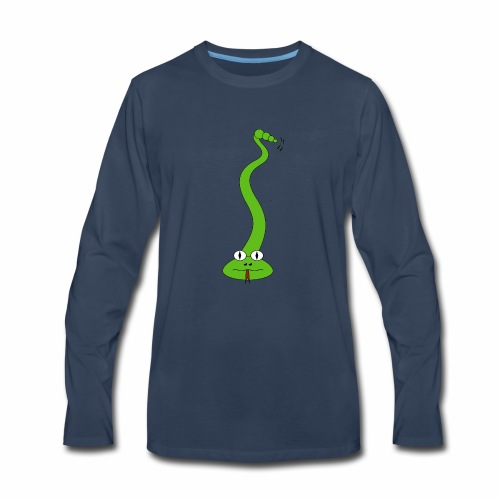 Green Snake - Men's Premium Long Sleeve T-Shirt