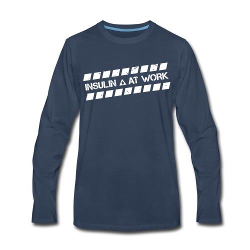 Insulin At Work - Men's Premium Long Sleeve T-Shirt