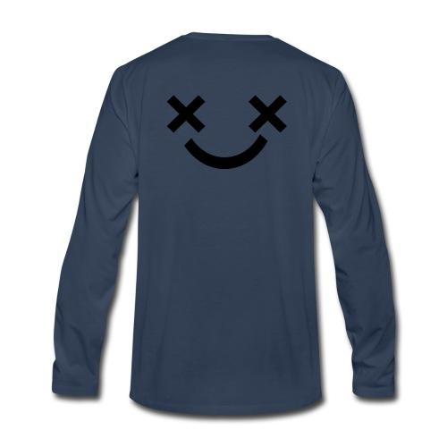 X Eyes Face Design - Men's Premium Long Sleeve T-Shirt