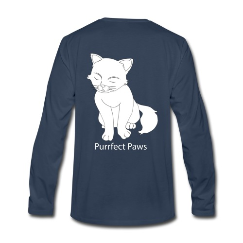 Purrfect Paws - Men's Premium Long Sleeve T-Shirt