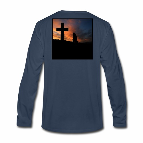 Always Pray - Men's Premium Long Sleeve T-Shirt