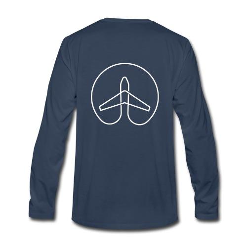 She Wanders the Globe - Men - Men's Premium Long Sleeve T-Shirt