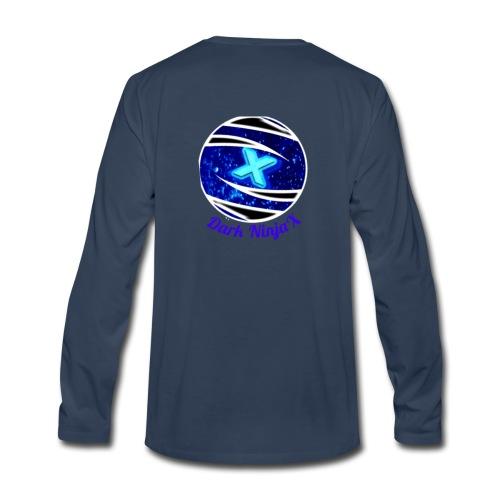 Dark NinjaX clothing logo - Men's Premium Long Sleeve T-Shirt