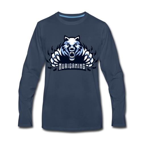 NuriGaming🐺 - Men's Premium Long Sleeve T-Shirt