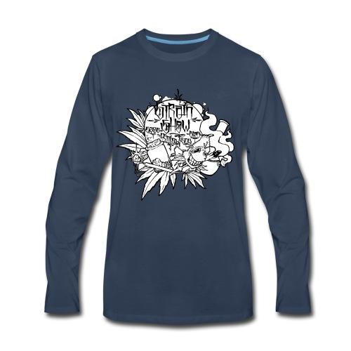 High and Happy Bud - Men's Premium Long Sleeve T-Shirt