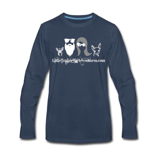 LTBA Head Shots - Men's Premium Long Sleeve T-Shirt