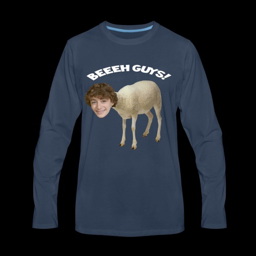 Beeeeeh Guys is MoutMout 2 - Men's Premium Long Sleeve T-Shirt