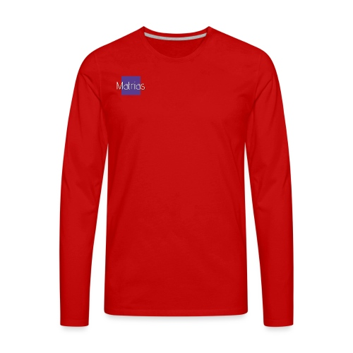 Matrias merch - Men's Premium Long Sleeve T-Shirt