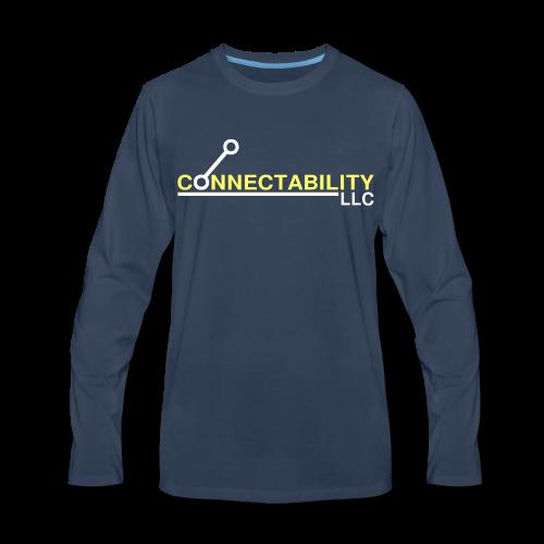 Connectability LLC - Men's Premium Long Sleeve T-Shirt