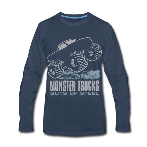 Monster Truck Guts - Men's Premium Long Sleeve T-Shirt