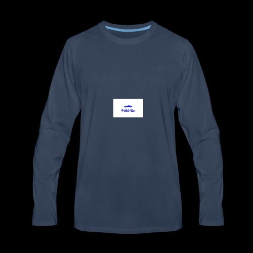 Blue 94th mile - Men's Premium Long Sleeve T-Shirt