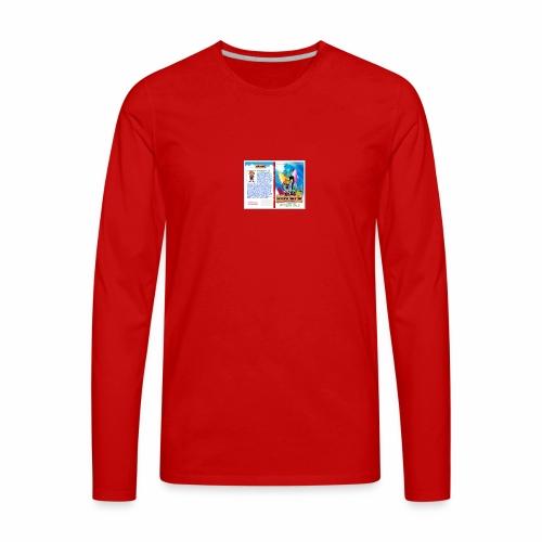 An Essential Book of Good by P fessor Guus cover - Men's Premium Long Sleeve T-Shirt