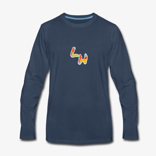 Los Hermanos Logo - Men's Premium Long Sleeve T-Shirt