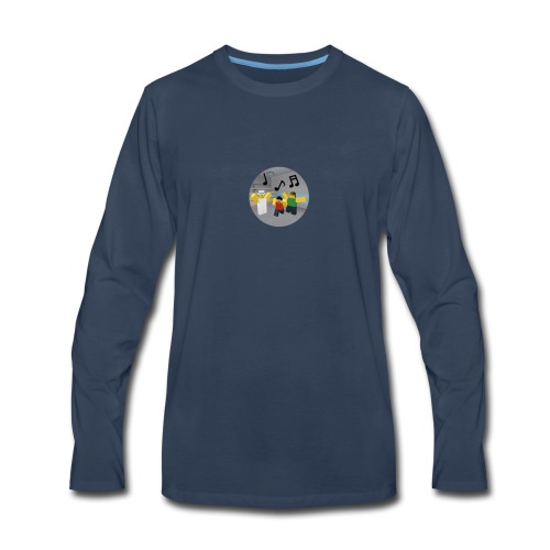 Roblox Music - Men's Premium Long Sleeve T-Shirt