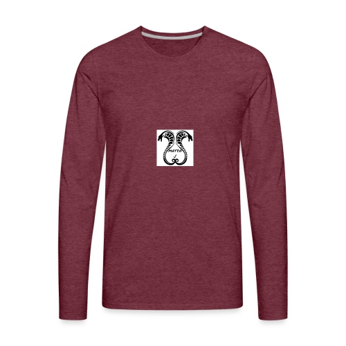 Mateo J Snake design - Men's Premium Long Sleeve T-Shirt