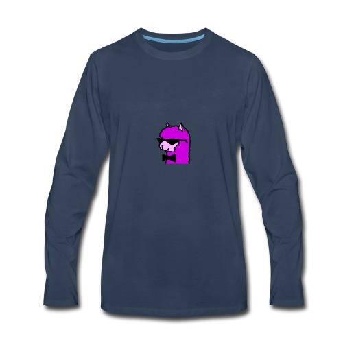 Cool Alpaca - Men's Premium Long Sleeve T-Shirt