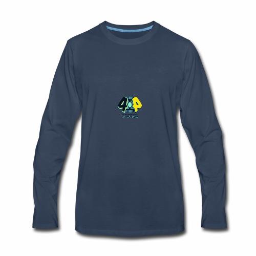 404 Logo - Men's Premium Long Sleeve T-Shirt