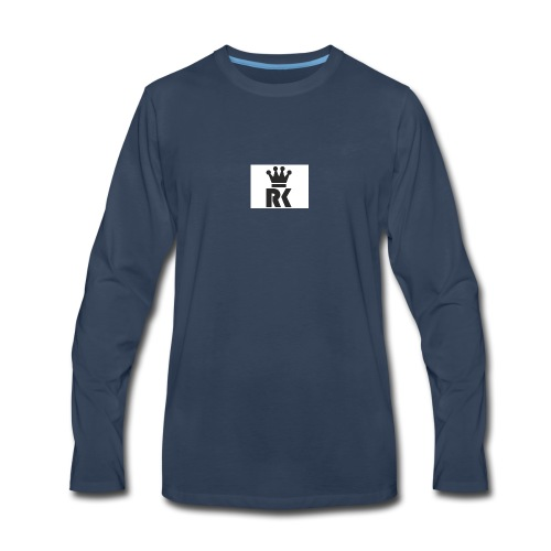 rk1_logo - Men's Premium Long Sleeve T-Shirt