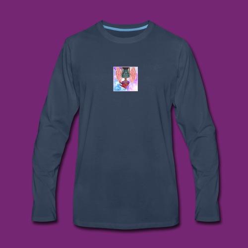 Angel dazed in love - Men's Premium Long Sleeve T-Shirt