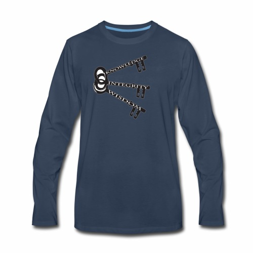 KEYS TO LIFE - Men's Premium Long Sleeve T-Shirt