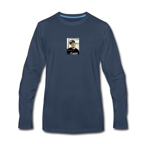 Kski oops your not y hun - Men's Premium Long Sleeve T-Shirt