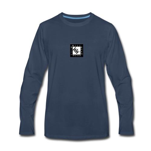Phone logo - Men's Premium Long Sleeve T-Shirt