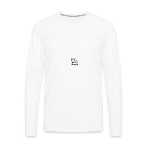 Throw kindness around - Men's Premium Long Sleeve T-Shirt