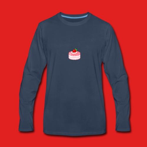 Cherry cake - Men's Premium Long Sleeve T-Shirt