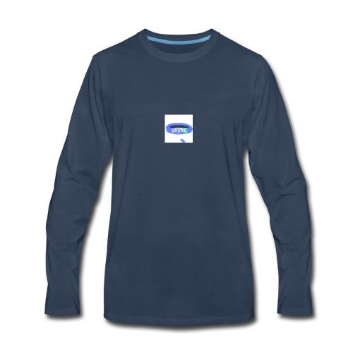 ShyhB (Blue) Wristband - Men's Premium Long Sleeve T-Shirt