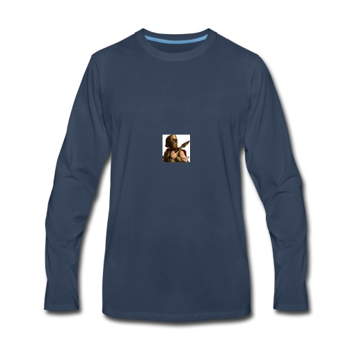 lanceypooh 2 - Men's Premium Long Sleeve T-Shirt