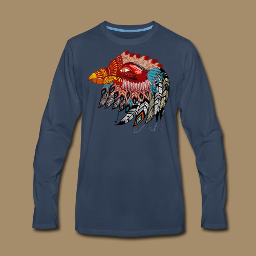 Eagle Tribal Animal Spirit Totem - Men's Premium Long Sleeve T-Shirt