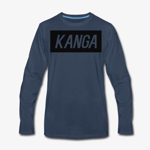 Kanga Designs - Men's Premium Long Sleeve T-Shirt