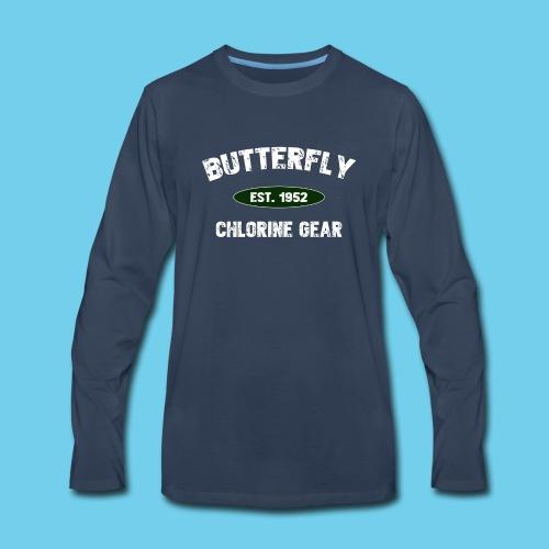 Butterfly est 1952-M - Men's Premium Long Sleeve T-Shirt