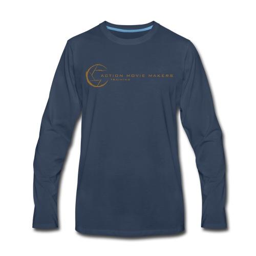 AMMT Logo Modern Look - Men's Premium Long Sleeve T-Shirt