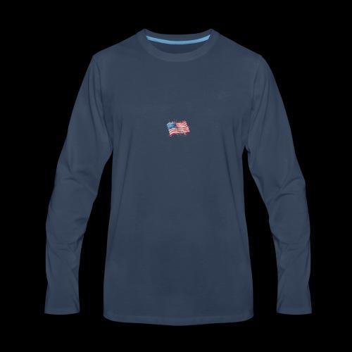 Water Color Pat - Men's Premium Long Sleeve T-Shirt