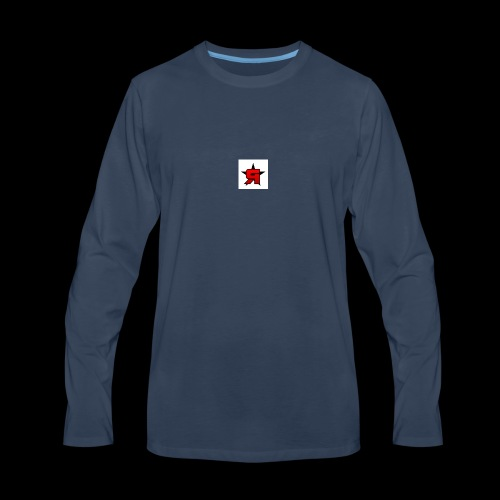 temper - Men's Premium Long Sleeve T-Shirt