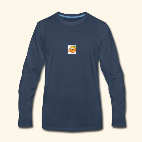 OrangeJuice - Men's Premium Long Sleeve T-Shirt