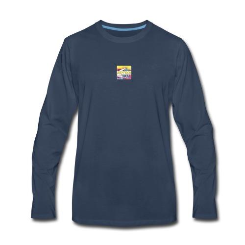 Hey merch - Men's Premium Long Sleeve T-Shirt