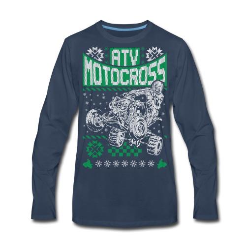 ATV Quad Motocross - Men's Premium Long Sleeve T-Shirt
