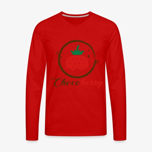 Chocoberry - Men's Premium Long Sleeve T-Shirt