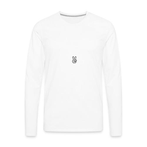 Peace J - Men's Premium Long Sleeve T-Shirt