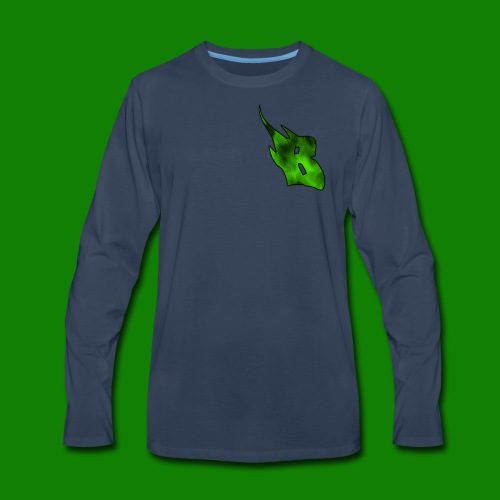 BCCGamers 2018 Logo - Men's Premium Long Sleeve T-Shirt