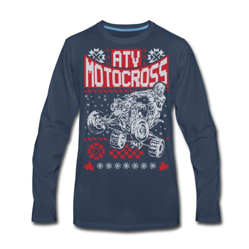 ATV Quad Motocross - Men's Premium Long Sleeve T-Shirt