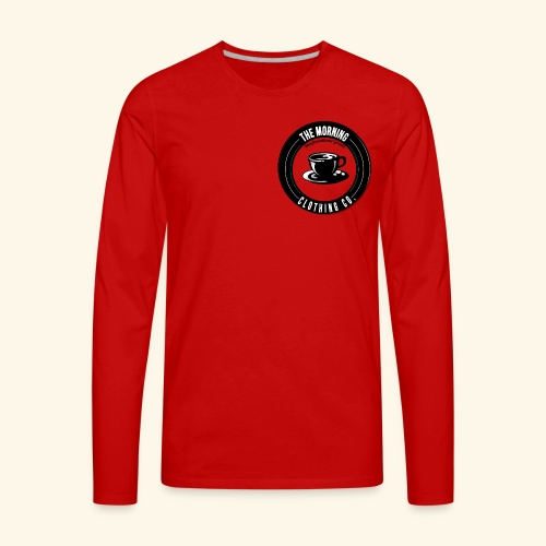 The Morning Clothing Co. - Men's Premium Long Sleeve T-Shirt