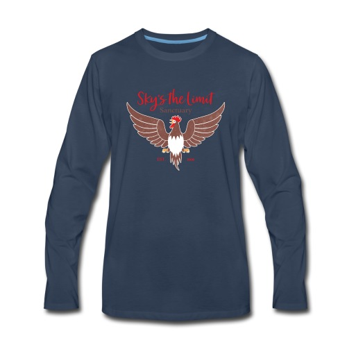 STL Logo - Men's Premium Long Sleeve T-Shirt